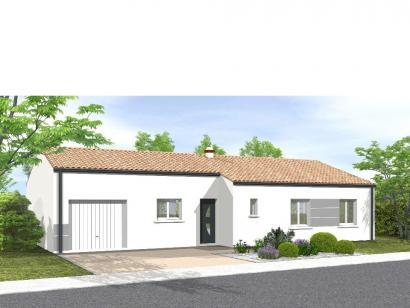 Modèle de maison Avant projet Sainte Flaive Des Loups - 3 chambres 3 chambres  : Photo 1