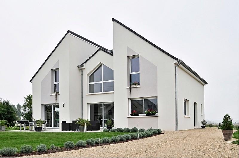 Maison moderne maisons france confort - Maison architecture moderne ...