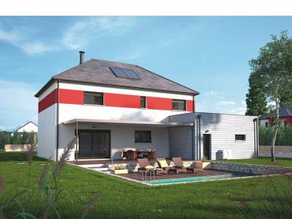 Modèle de maison Contemporaine 160 4 chambres  : Photo 2