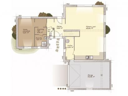 Plan de maison La Villa 170 5 chambres  : Photo 1