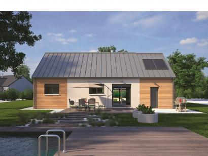 Modèle de maison Plain-pied 70 2 chambres  : Photo 2