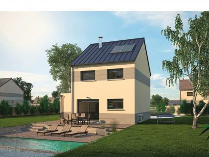 Modèle de maison Urbaine GA 6.5 3 chambres  : Photo 2