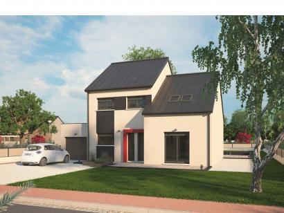 Modèle de maison Urbaine GA 10 4 chambres  : Photo 1