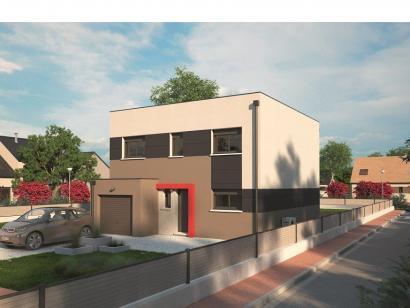 Modèle de maison Urbaine GI 9 R + 1 4 chambres  : Photo 1