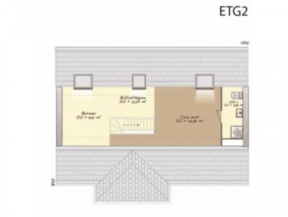 Plan de maison Contemporaine 186 4 chambres  : Photo 3