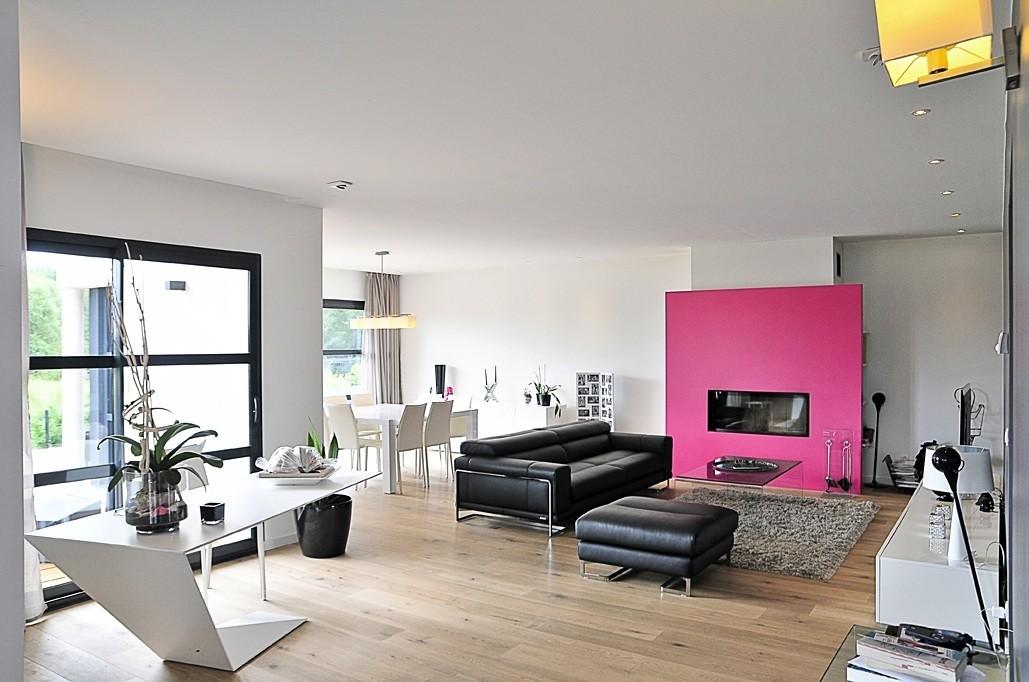 faire construire une maison moderne maisons france confort. Black Bedroom Furniture Sets. Home Design Ideas