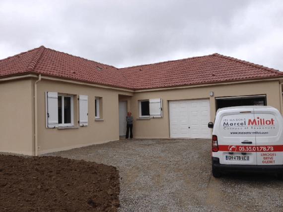 nouvelle réception de maison en Creuse