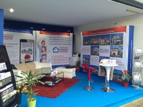 Salon de l 39 habitat d 39 alencon 61000 maisons france confort for Maison france confort alencon