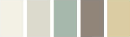 Exemples de palette