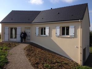 maison neuve de 90 m2, sur sous-sol, garage en Corrèze