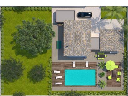Modèle de maison La Villa 170 Elégance 4 chambres  : Photo 2