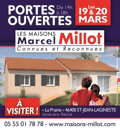 Les Maisons Marcel Millot dans le lot