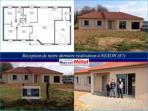 nouvelle maison Marcel Millot en Haute-Vienne