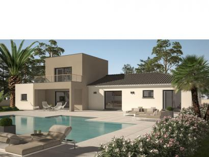 Modèle de maison Cloé 95 Design Toit plat 3 chambres  : Photo 1