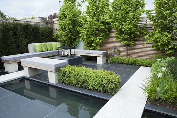 Styles de jardins for Le jardin contemporain