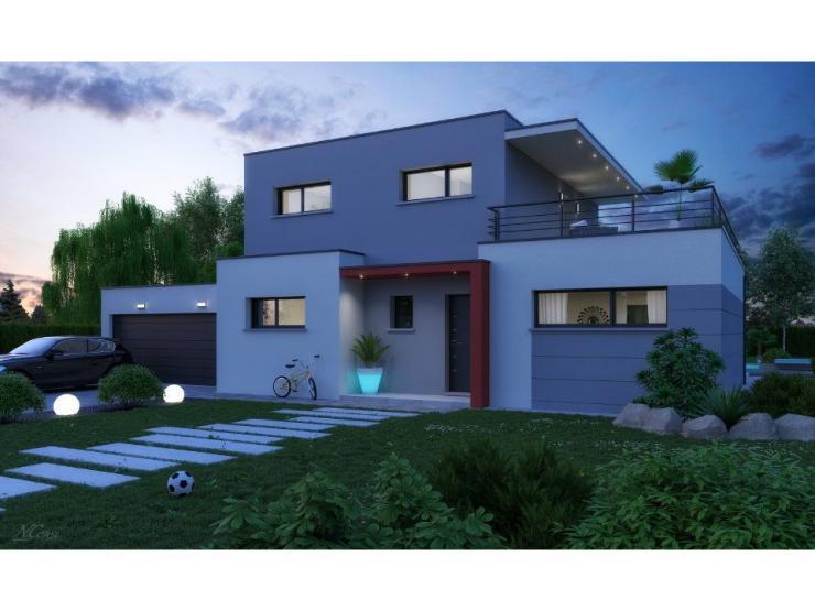 Mod le de maison platine 4 chambres maisons france confort for Maison et confort catalogue