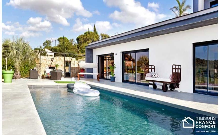 Maison proven ale maisons france confort - Maison provencale moderne ...