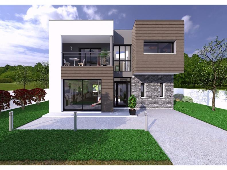 Mod le de maison mill sime 2016 4 chambres maisons berval for Modele maison 2016