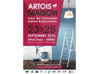 Salon Artois Maison Arras (62) du 23 au 25 septembre 2016