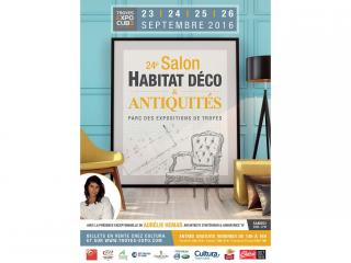Salon Habitat & Décoration de TROYES (10) du 23 au 26 Septembre 2016
