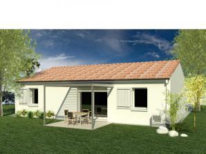 Maison neuve à Claix (16440)<span class='prix'> 134990 €</span> 134990