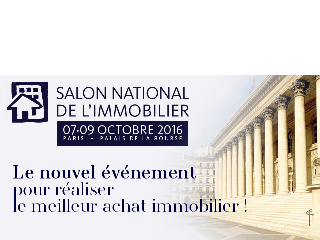 Découvrez MFC INVEST au Salon National de l'Immobilier de Paris du 7 au 9 octobre 2016