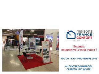 Jusqu'au 19 novembre RDV à Flins (78) - Centre Commercial Carrefour