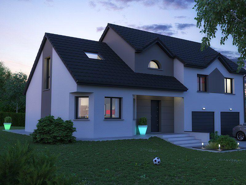 les r alisations de maisons horizon maisons traditionnelles. Black Bedroom Furniture Sets. Home Design Ideas