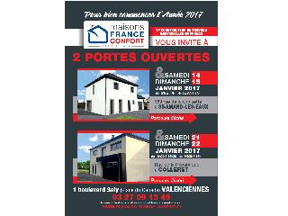 Opération portes ouvertes sur Colleret (59) les 21 et 22 janvier 2017