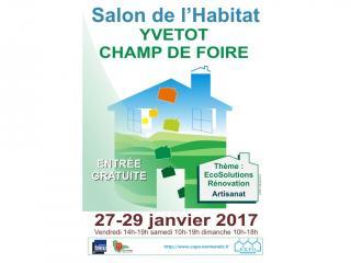 Salon de l'Habitat d'Yvetot (76) - 27-28-29 janvier 2017