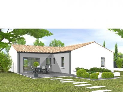 Modèle de maison Avant-projet POUZAUGES -90 m² - 3 chambres _Duplic 3 chambres  : Photo 1