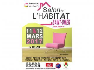 Salon de l'Habitat de Saint Omer (62) les 11 et 12 mars 2017