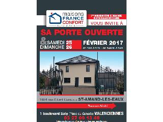 Opération portes ouvertes sur Saint Amand les Eaux les 25 et 26 février 2017