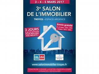 Salon de l'Immobilier de Troyes (10) du 3 au 5 mars 2017
