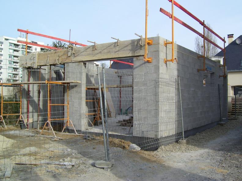 Visite decouverte de chantiers en cours de construction for Assurance maison en cours de construction
