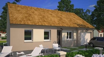 Plan de maison Family 75G par Maisons France Confort