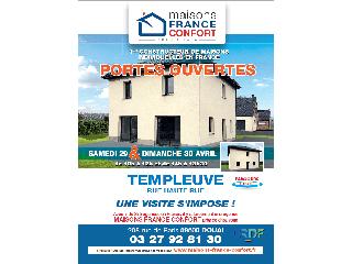 Opération portes ouvertes sur Templeuve (59) les 29 et 30 avril 2017