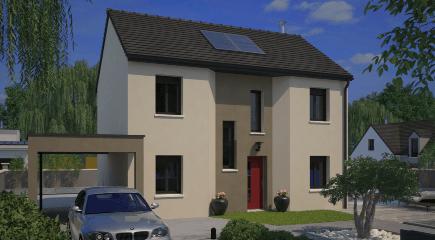 City 98 un modèle de plan de maison 4 chambres par Maisons France Confort
