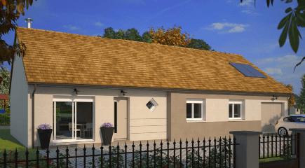Family Evolution un modele de plan de maison 4 chambres par Maisons France Confort