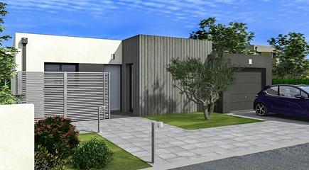 Rubic un plan de maison plain pied 4 chambres par Maisons France Confort