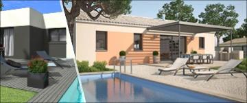 Un plan maison de plain-pied de 4 chambres : espace et personnalisation