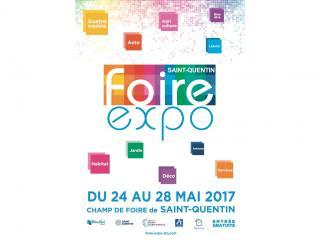 Foire Expo de St Quentin (02) du 24 au 28 mai 2017