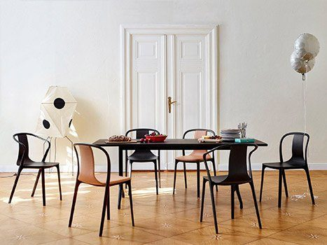 Chaises Belleville By Vitra