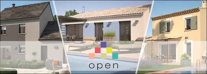 Notre gamme de maisons Open