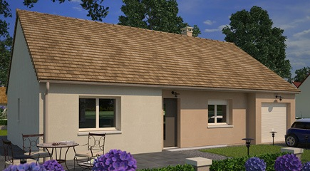 Invest, un modèle de plan maison de 3 chambres signés Maisons France Confort