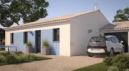 Open Sud PP GA 73, , un modèle de plan maison de 3 chambres signés Maisons France Confort