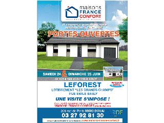 Opération portes ouvertes sur Leforest (62) les 24 et 25 juin 2017