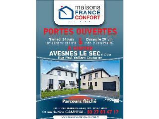Opération portes ouvertes sur Avesnes le Sec (59) les 24 et 25 juin 2017