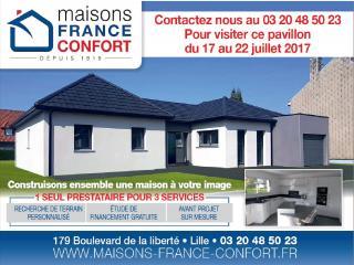 INVITATION - Venez visiter une réalisation Maisons France Confort sur rendez-vous(59)