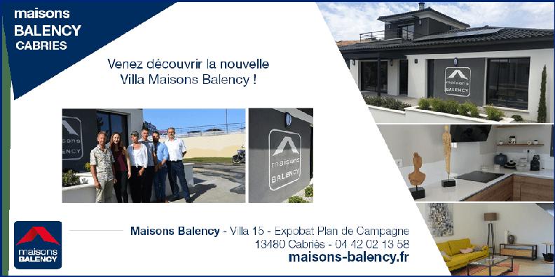Villa expobat Maisons Balency à Cabriès